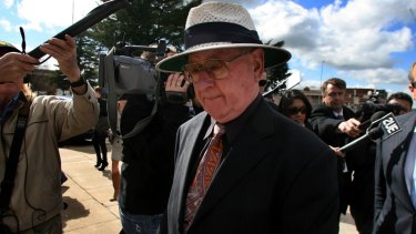 Former priest Brian Spillane outside court in 2008.