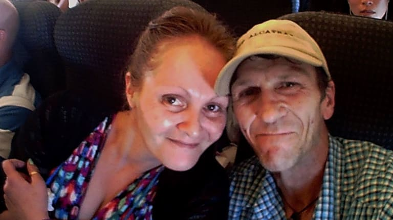 Varri Telfer is grieving the loss of her partner, Mark English, who died after an alleged one-punch attack in the Brisbane CBD.