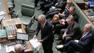 Prime Minister Malcolm Turnbull delivers the Closing the Gap report at Parliament House.