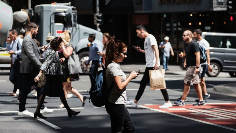 Smartphones and pedestrians: how we're texting our lives away