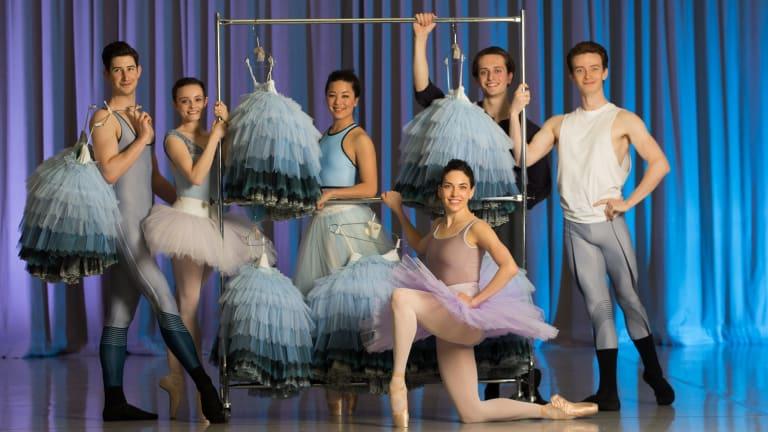 The 2016 Telstra Ballet Dancer Award nominees: Brodie James, Jade Wood, Jill Ogai, Nicola Curry, Callum Linnane and Jarryd Madden (left to right).