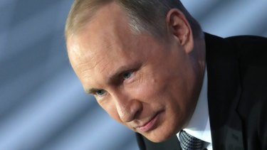 Russian President Vladimir Putin is a former KGB agent.
