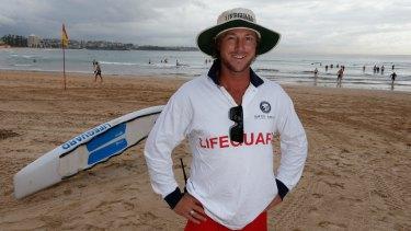 Cameron Gray at Manly Beach.