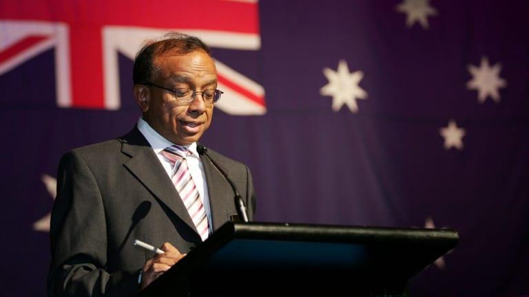 Darebin chief executive Rasiah Dev