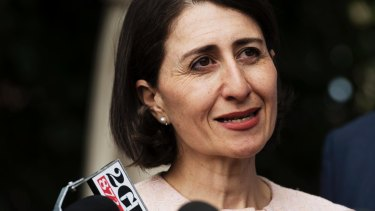 Gladys Berejiklian says her strength is that she gets things done.