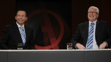 Tony Abbott may have the odd happy memory of appearing on the ABC's <i>Q&A</i> back before he was Prime Minister.