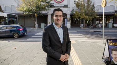 ACT Liberal Senator Zed Seselja has been paid about $10,200 to commute.