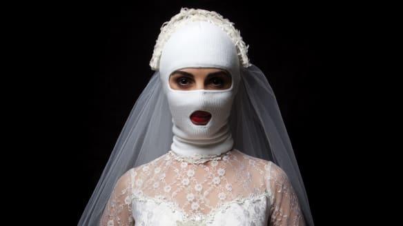 Menacing bride skewers cultural assumptions in Ballarat biennale