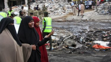 The death toll has risen to 300 making it the deadliest single attack ever in the Horn of Africa nation.
