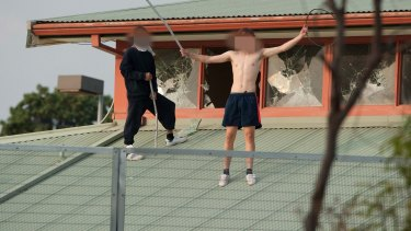 Parkville Youth Justice Centre rioters.