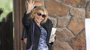 Viacom vice-chairman Shari Redstone has been a hot topic of conversation at Sun Valley due to her legal case against the company's CEO.