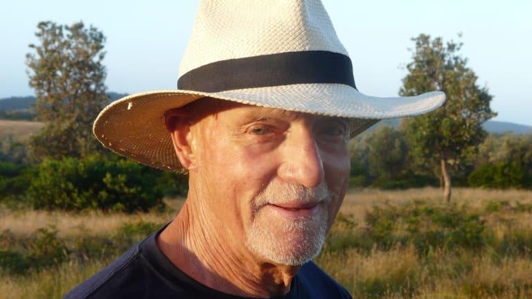 Seumas Phelan at Mystery Bay, NSW, in 2012.