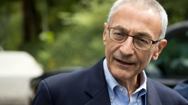 John Podesta's personal email account was hacked.