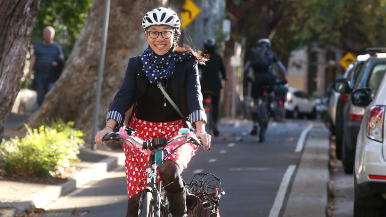 The survey suggests a decline in cycling by females of all ages.