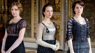 Lady Edith, Lady Sybil and Lady Mary.