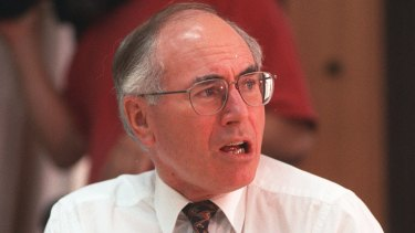 Former prime minister John Howard: had a rush of blood to the head.