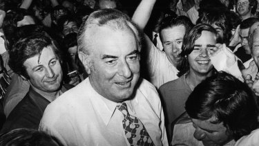 """Gough Whitlam said the Racial Discrimination Act would help to """"entrench new attitudes of tolerance""""."""