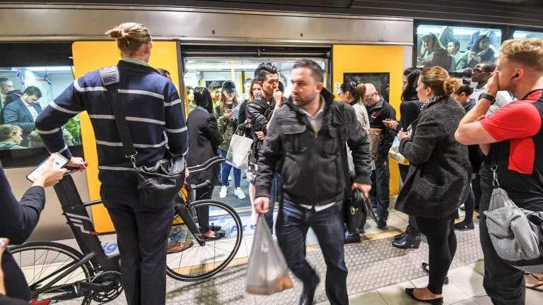 Patronage is soaring across Sydney's train network.