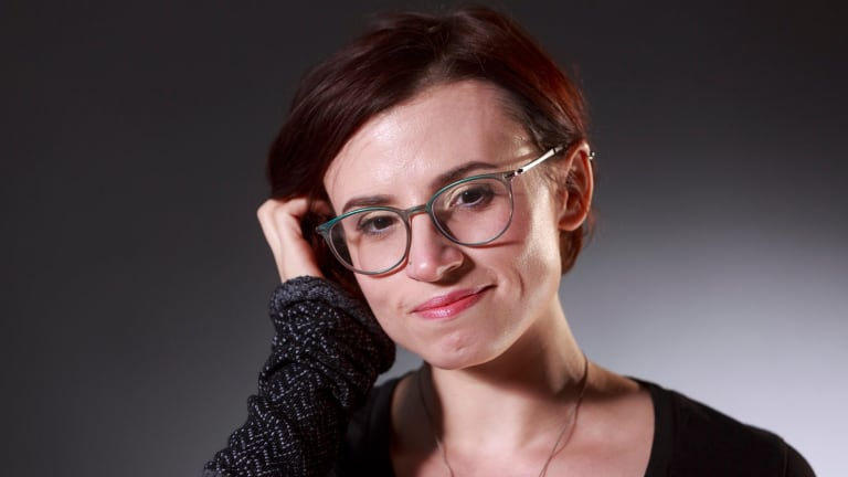 Making the invisible visible: Laurie Penny, English feminist columnist and author.