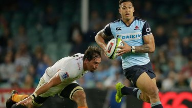 """""""I believe the talent I have is from God"""": Israel Folau."""