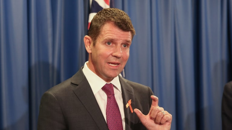Council mergers announced: Premier Mike Baird.