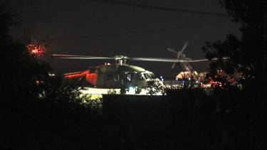 """The Greek government said a Turkish Blackhawk helicopter will be returned to Turkey """"as soon as possible""""."""