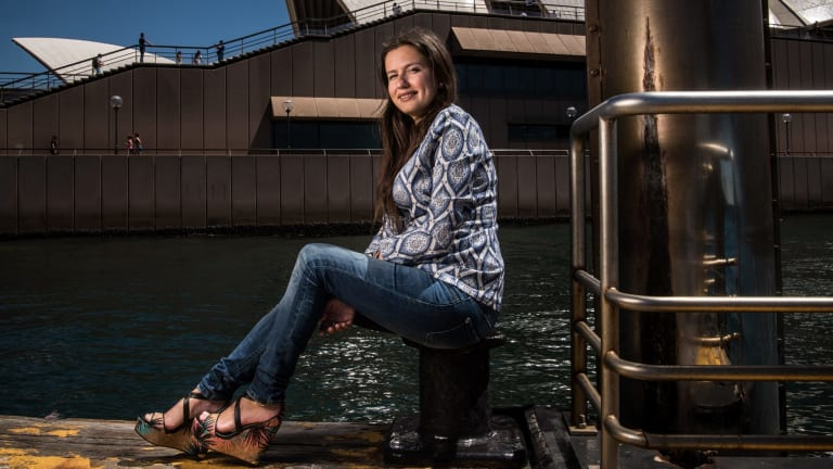 Inna Braverman wants to harness the waves and is doing so at Eco Wave Power plant in Gibraltar.