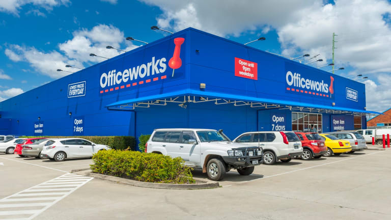 Officeworks was touted as a potential competitor to a merged Staples/Officemax