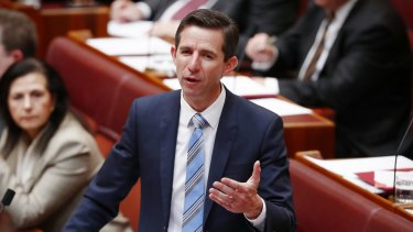"Education Minister Simon Birmingham reminded universities of their ""legal obligations to provide a safe environment""."