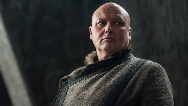 Varys is watching out for Melisandre.