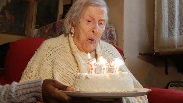 Emma Morano celebrates her 117th birthday on November 29, 2016.
