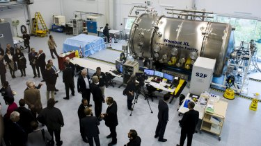 The launch of the space engineering facility.