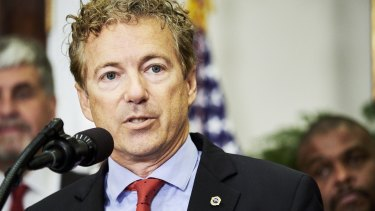 Senator Rand Paul, a Republican from Kentucky.