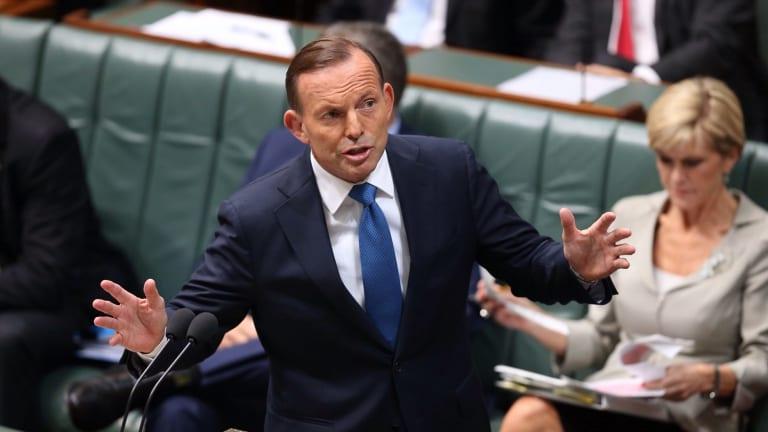 Rotten judgment: Prime Minister Tony Abbott.