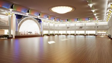 The digital recreation of Cloudland Ballroom Brisbane