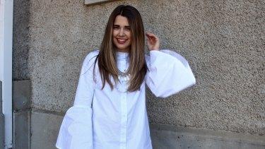 Style blogger from A Stylish Moment Jemma Mrdak.