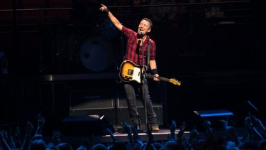Give yourself a few hours of Bruce Springsteen and what isn't possible?