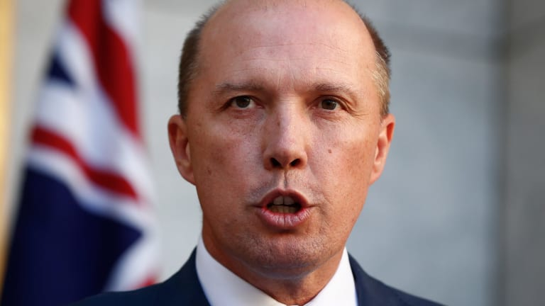 Immigration Minister Peter Dutton has stood by his claims over the Good Friday shooting on Manus Island.