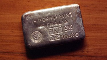 The Perth Mint sold a record of more than 2.5 million ounces of silver last month.