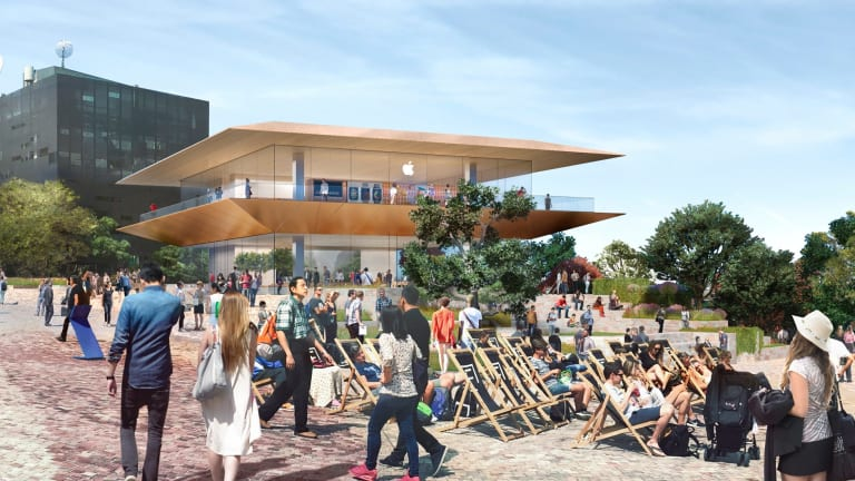 How the new Apple store will look at Federation Square