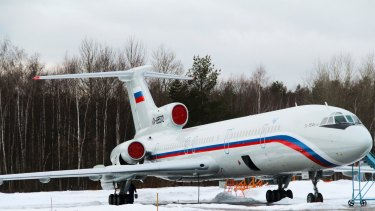 The Tu-154 plane that crashed had been recently serviced.