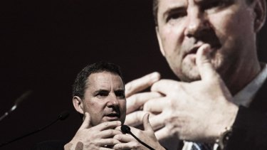 Locked in: Long-run funding has now been set aside by CSIRO chief Larry Marshall.