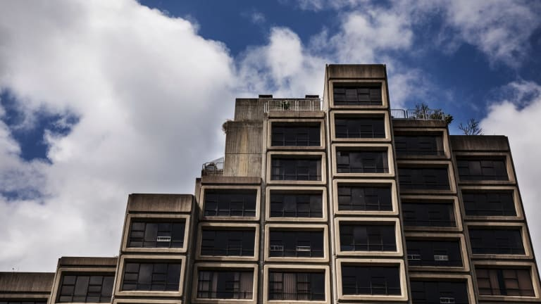 The Sirius building in The Rocks is an example of Sydney's Brutalist architecture.