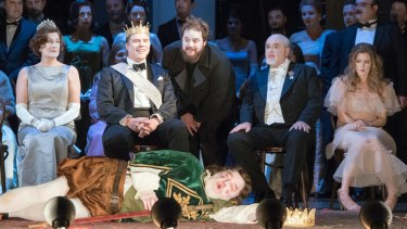 Brett Dean's score of <i>Hamlet</I> was delivered by a superb cast of singers.
