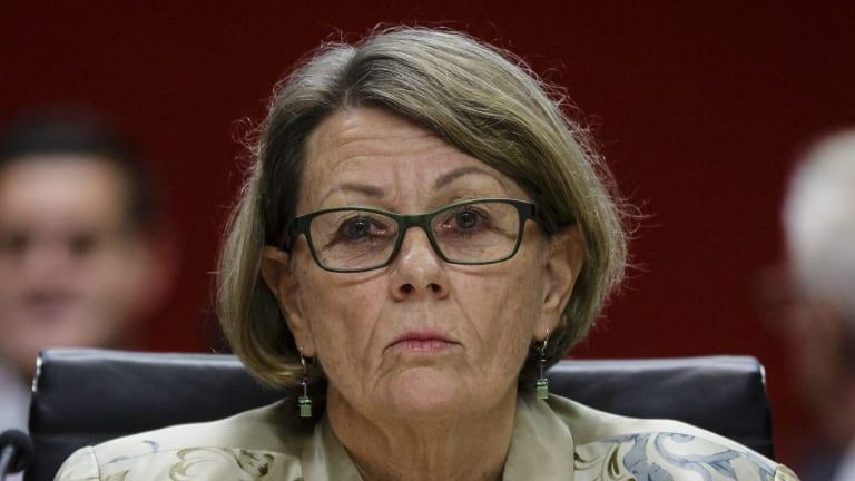 Independent Commission Against Corruption commissioner Megan Latham.