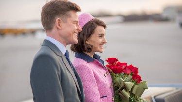 John F Kennedy (Caspar Phillipson) and Jacqueline Kennedy (Natalie Portman).