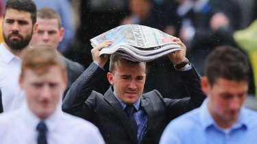 It was the second-coldest Cox Plate Day on record.