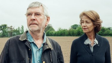 Tom Courtenay and Charlotte Rampling play a long-married couple in <i>45 Years</i>.