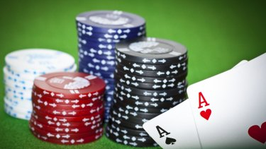 Gambling chips are becoming underworld currency.