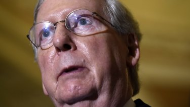 Republican Senate Majority Leader Mitch McConnell couldn't disagree with Trump's comments on the Hispanic judge more - but plans to back Trump.